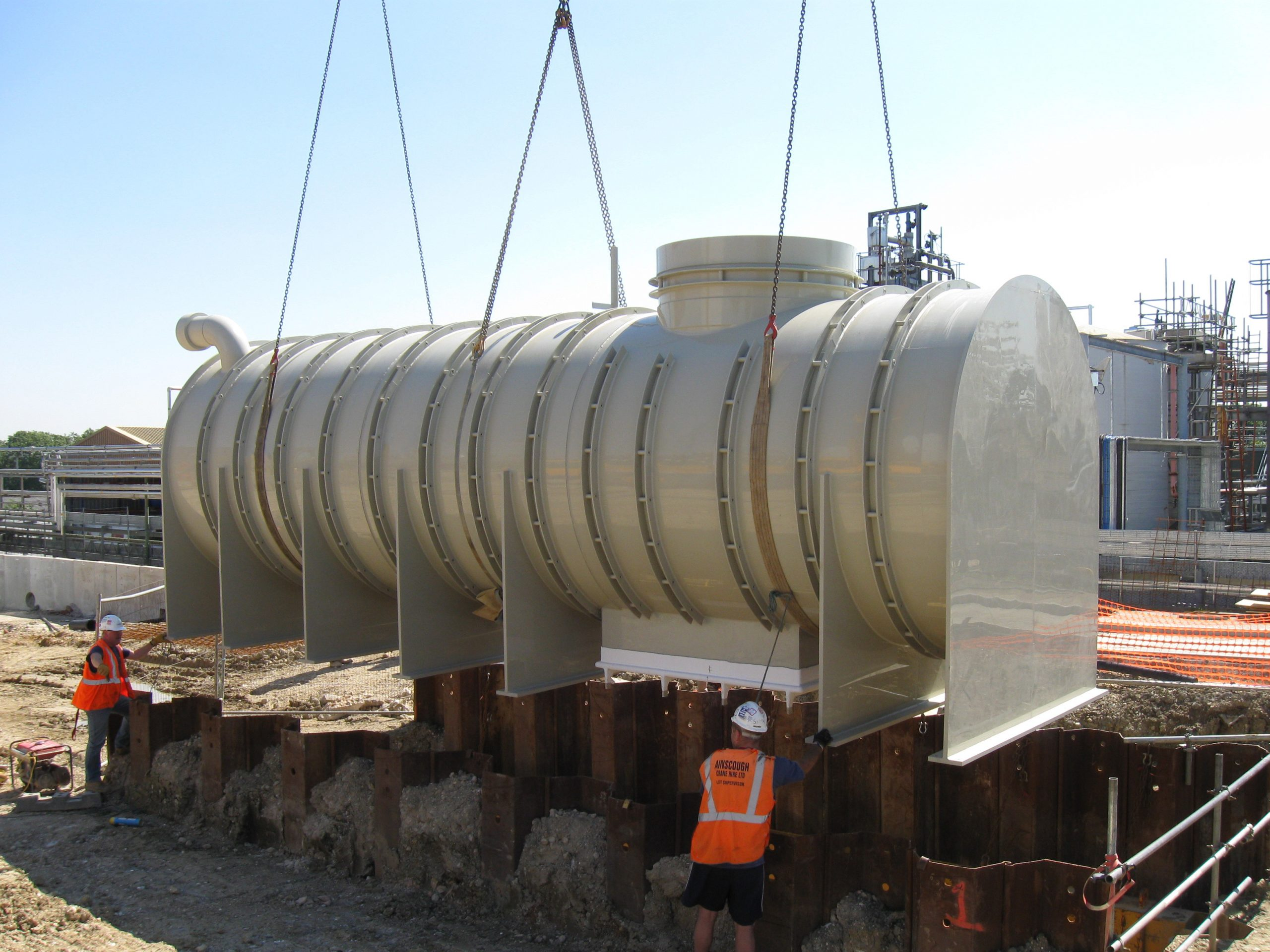Pipex px Containment Tank on site (46) NL