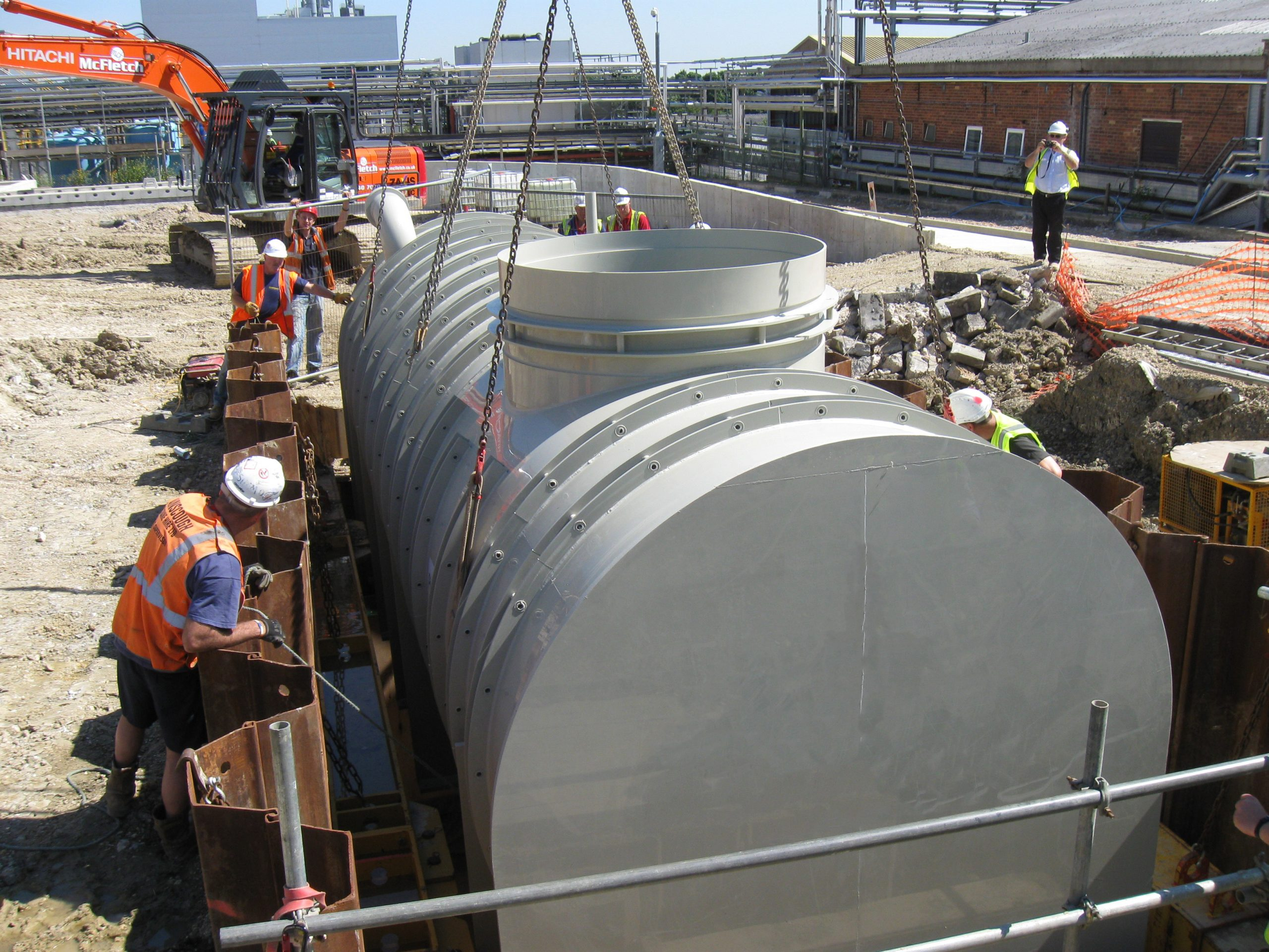 Pipex px Containment Tank on site (51) NL