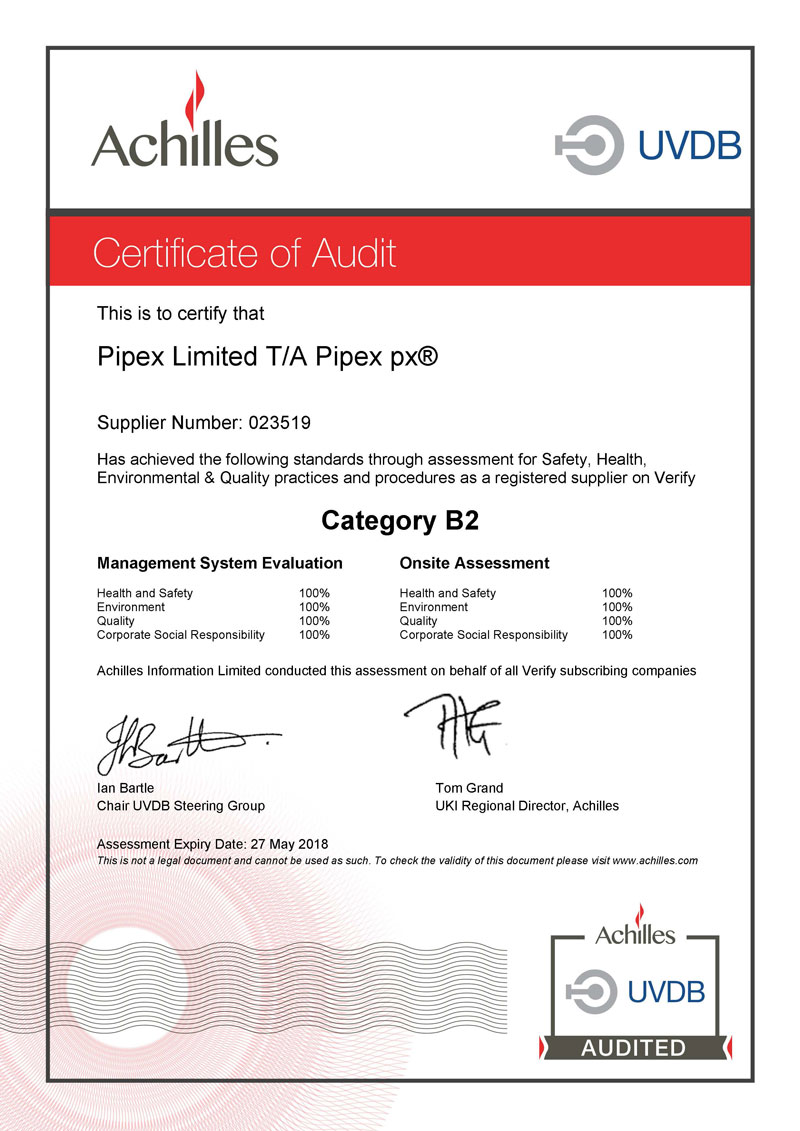 170726-Achilles-UVDB-Category-B2-Audit-Certificate